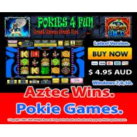 Windows Standard Edition: Pokie Slots- Aztec Wins Download Code(Pc)