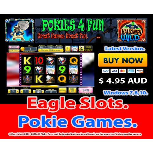 Windows Standard Edition: Pokie Slots- Eagle Slots Download Code(Pc)