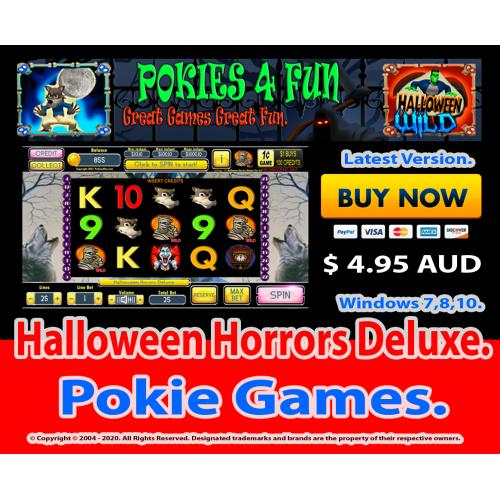Windows Standard Edition: Pokies Slots Halloween Horrors Download Code (Pc)