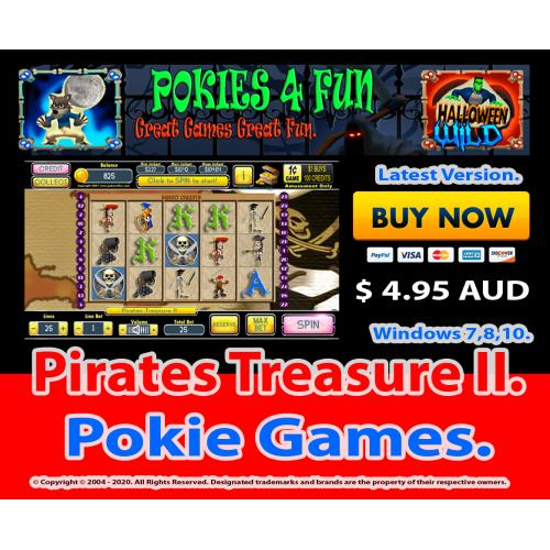 Windows Standard Edition: Pokies Slots Pirates Treasure II Download Code (Pc)