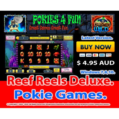Windows Standard Edition: Pokie Slots- Reef Reels Deluxe Download Code(Pc)