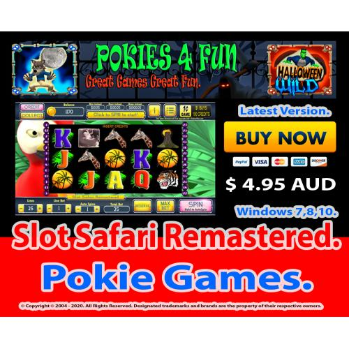 Windows Standard Edition: Pokie Slots- Slot Safari Remastered Download Code(Pc)