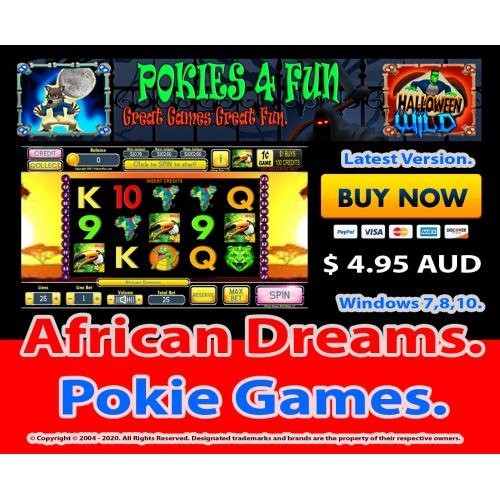 Windows Standard Edition: Pokie Slots- African Dreams Download Code(Pc)