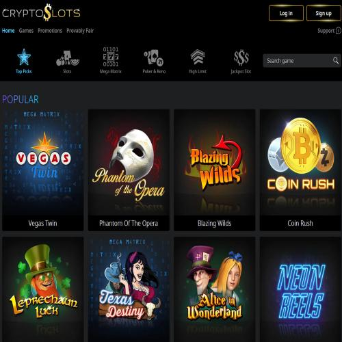 Play At CryptoSlots