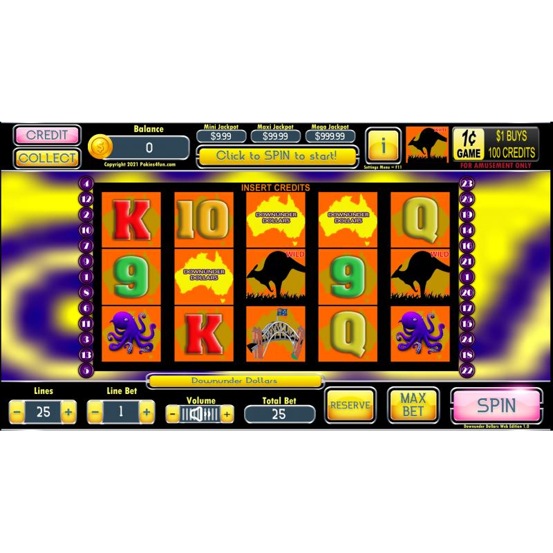 Windows Standard Edition: Pokie Slots- Downunder Dollars Download Code(Pc)