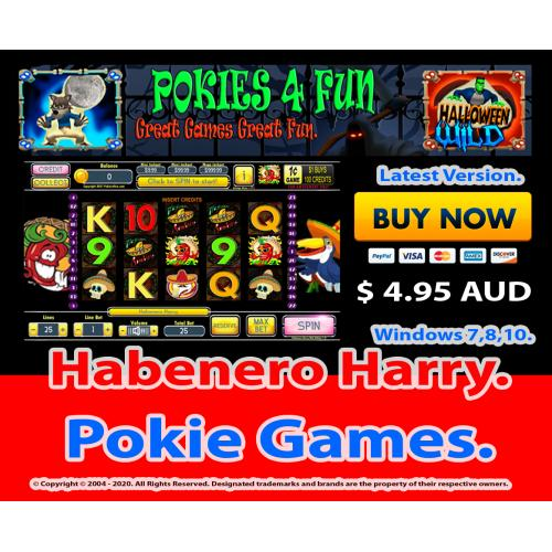 Windows Standard Edition: Pokie Slots- Habenero Harry Download Code(Pc)