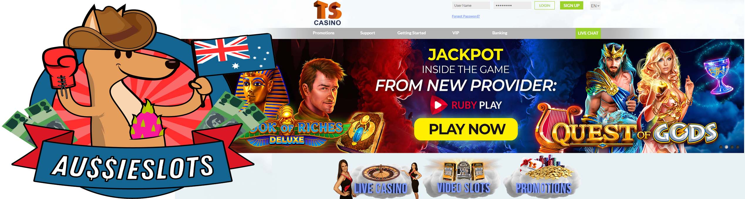 Play Our New Featured Casino